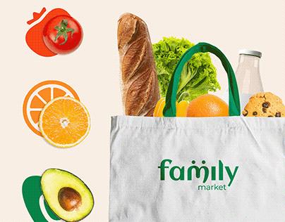 Rediseño de marca: family market