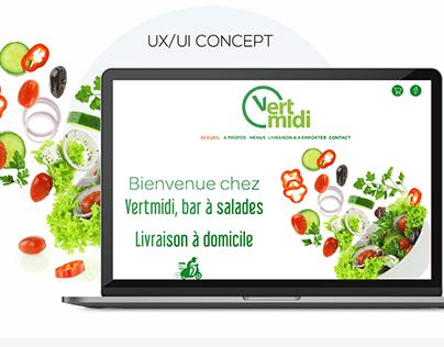 Vert Midi Website