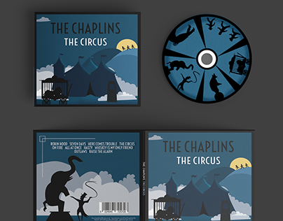 The Chaplins: The Circus - Album Artwork
