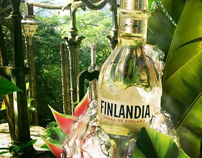 Finlandia Vodka Retouch