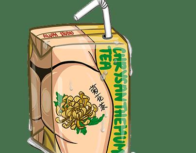 Chrysanthemum Tea Box