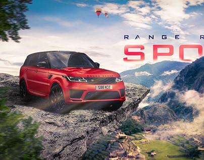 Range Rover Sport Advertisement Banner