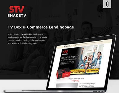 TV Box Landingpage
