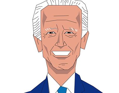 Joe Biden : a Vector Portrait