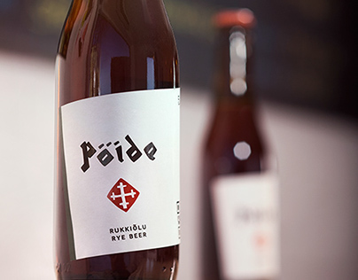 Pöide beer / packaging