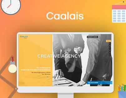 CAALAIS - Digital Agency Website Design