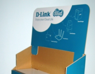 "POS Display ""D-Link"""