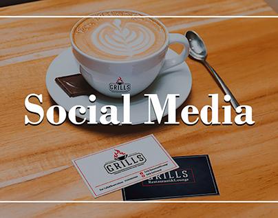 Grill Restaurant Social Media Posts