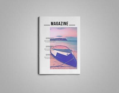 Simple & Clean Magazine Tempalte IV