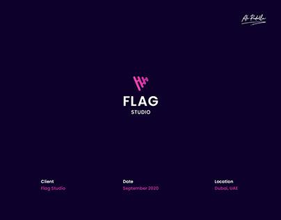Flag Studio Brand identity