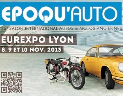 Lancement : campagne de communication Epoqu'auto 2013