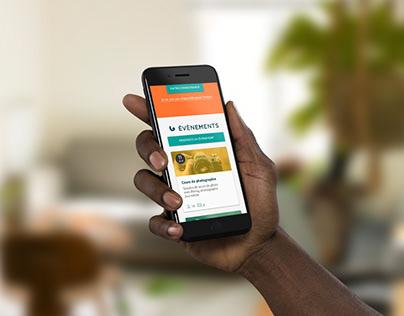 Singa.io, une plateforme pour créer du lien — UX & UI
