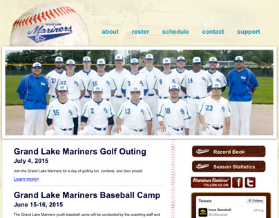 Grand Lake Mariners Website