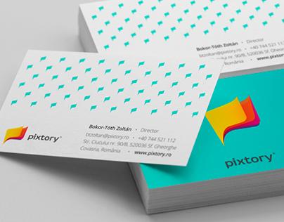 Pixtory [Branding, Web Design & Development]