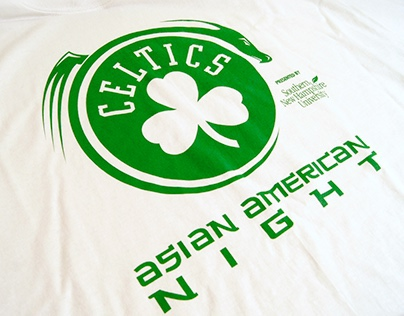 Celtics Asian American T-Shirt Design