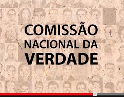 Vinheta: Comissão Nacional da Verdade