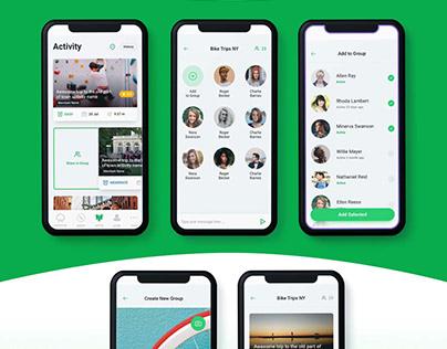EP Dashboard & Mobile UI Design