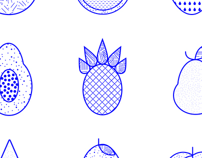 Fruit Illustrations