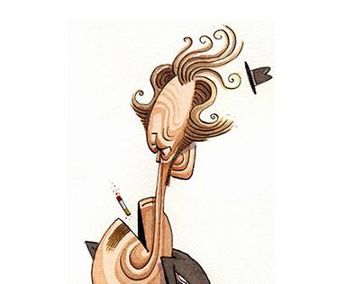 Watercolor Caricatures
