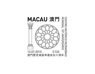 国际集邮展 × Chiii Design | 澳门申遗成功十周年