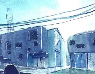 Rumah Tinggal + Kantor Notaris