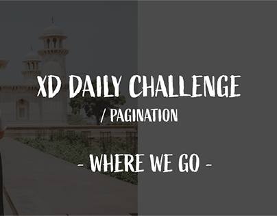DAY #3 XD DAILY CHALLENGE