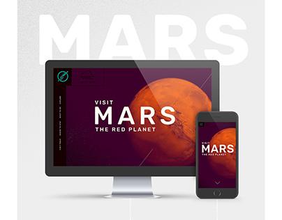 Mars | Web Design
