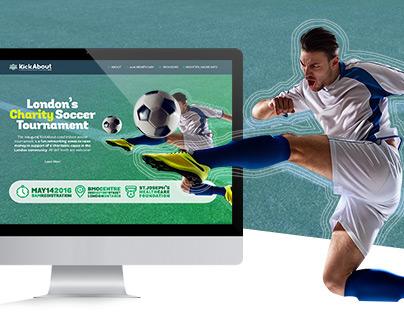 Kickabout London | Web Design