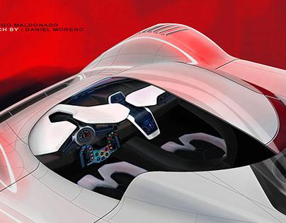Porsche LeMans MM17 / Interior Design