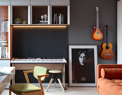 Room for musicians