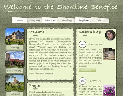 shoreline Benefice's website