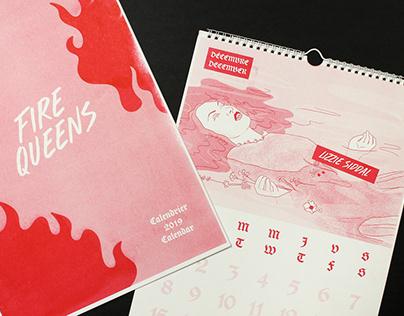 2019 Calendar | Fire Queens