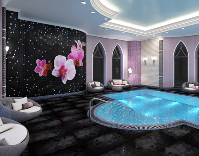 Orchid - pool