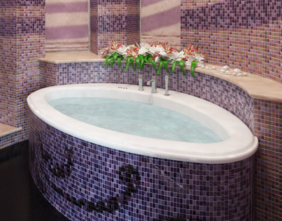 Orchid - bathroom