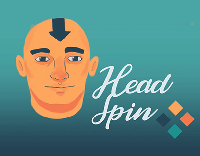 Head-Spin Animation