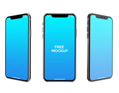 iPhone X Free Mockup Pack