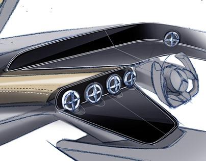 Mercedes-Benz doodles - steps