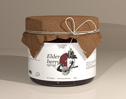 Packaging for Organic Syrup