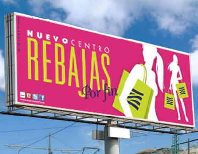 Ilustraciones para gráfica 'Rebajas Nuevo Centro'