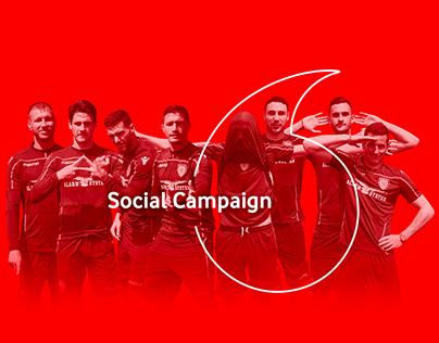 Vodafone&Cagliari - Social Campaign