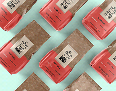 Branding and Packaging for Blended Beans Coffee