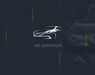 """""""VSE ZAPCHASTI"""" Website redesign"""