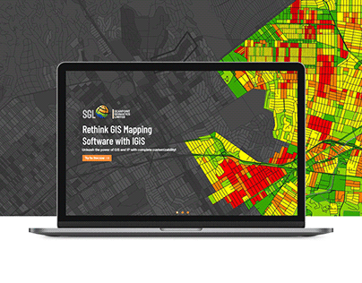 Scanpoint Geomatics Website Design