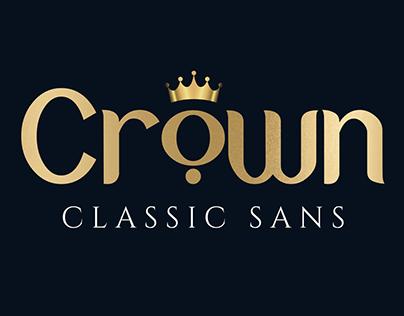Free Crown Sans Serif Font