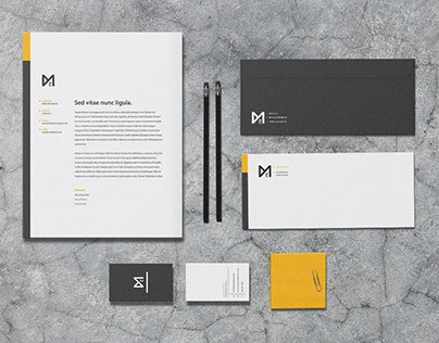 Chroma - Stationery Template