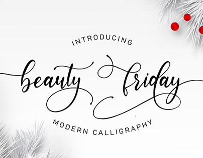 Beauty Friday Free Font