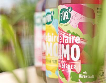 Die faire Limo von FÜR - Packaging Design