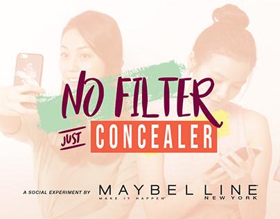 MAYBELLINE   No Filter Just Concealer