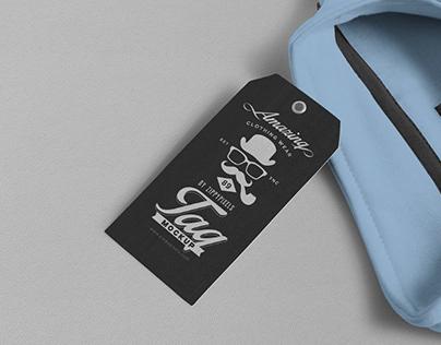45+ Clothing Label / Tag Mockup Templates