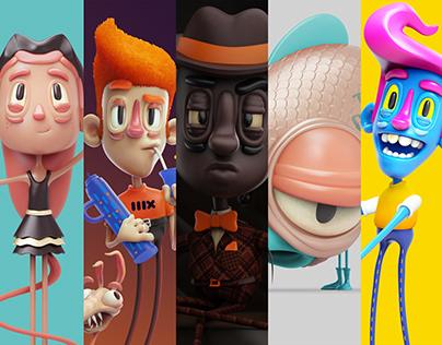 3D Characters V5